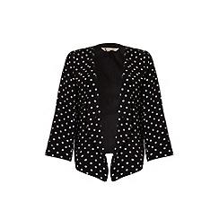 Yumi - Polka dot kimono jacket.