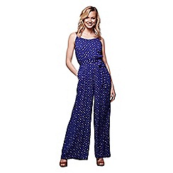 Yumi - Dotty Flared Jumpsuit.