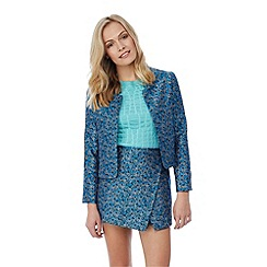 Yumi - Tailored jacquard jacket