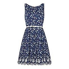 Yumi - Dotty floral printed dress