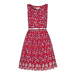 Yumi - Dotty floral printed dress