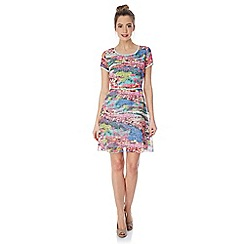 Yumi - Meadow print dress.