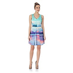 Yumi - Mountain print dress