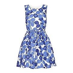 Yumi - Lace jacquard summer dress