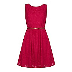 Yumi - Lace skater dress