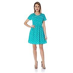 Yumi - Polka dot tea dress