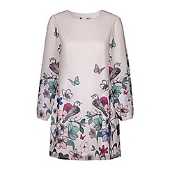 Yumi - Floral tunic dress.
