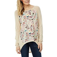 Yumi - Eastern bird print jumper