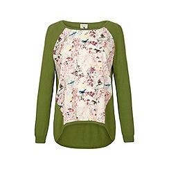 Yumi - Eastern bird print jumper.