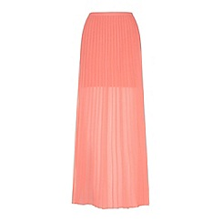 Yumi - Pleated maxi skirt
