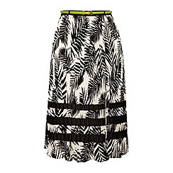 Yumi - Tropical midi skirt