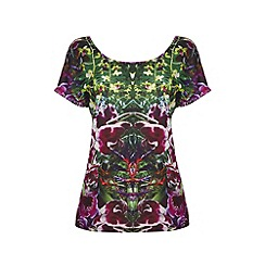 Yumi - Jungle print top