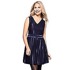 Yumi - Blue stripe 'Juliette' mini skater dress