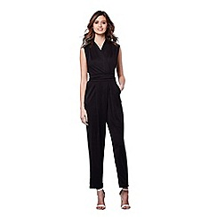 Yumi - Black lace back occasion jumpsuit