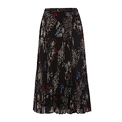Uttam Boutique - Bird print skirt