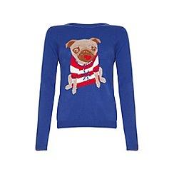 Yumi - Pug christmas jumper