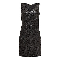 Yumi - Sleeveless sequin dress