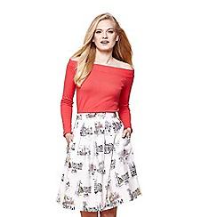 Yumi - Ivory scandi scene skirt