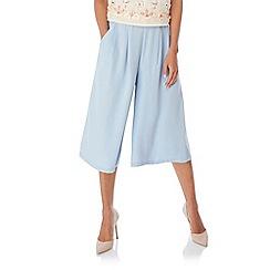 Yumi - Blue Wide Leg Culottes