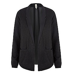 Yumi - Black Sheer Back Jacket