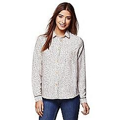 Yumi - Ivory nordic dash shirt