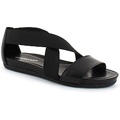 Aerosoles - Black 'Powerline' womens open toe sandals