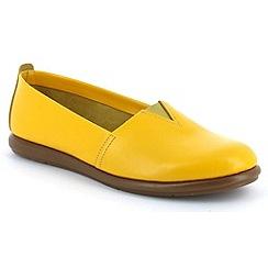 Aerosoles - Yellow 'Catalan' womens pump shoes