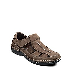 Padders - Brown 'Breaker' mens fisherman sandals