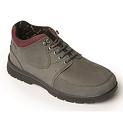 Padders - Grey 'Summit' women's waterproof leather boots
