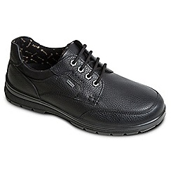 Padders - Black 'Terrain' waterproof leather shoes