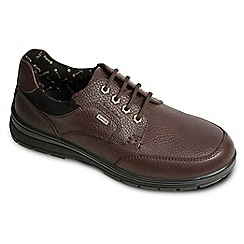 Padders - Brown 'Terrain' waterproof leather shoes