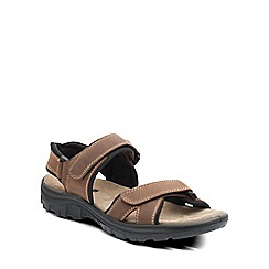 Padders - Brown 'Newquay' mens sports sandals