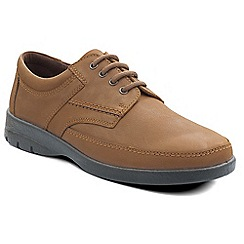 Padders - Camel 'George' men's leather lace up shoe