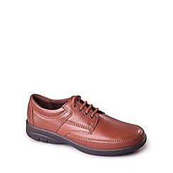 Padders - Tan 'George' men's leather lace up shoe
