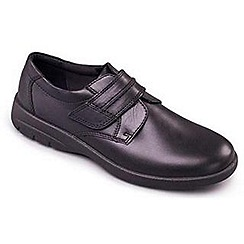 Padders - Black 'Gary' men's leather shoes