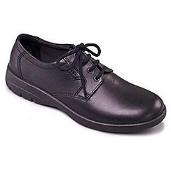 Padders - Black 'Glen' men's leather shoes