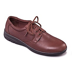 Padders - Tan 'Glen' men's leather shoes