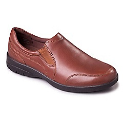 Padders - Tan 'Guy' men's leather shoes