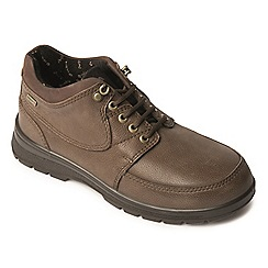 Padders - Taupe 'Summit' women's waterproof leather boots