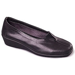 Aerosoles - Black Aerosoles 'Four William' Womens Flat Leather Shoes