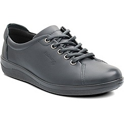 Padders - Navy 'Galaxy' womens lace up shoes