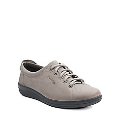 Padders - Grey 'Galaxy' womens lace up shoes