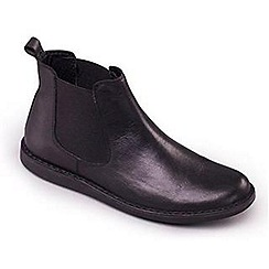 Padders - Black Padders Jez mens leather Chelsea boots
