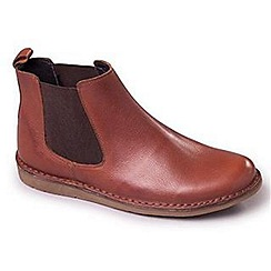 Padders - Tan Padders Jez mens leather Chelsea boots