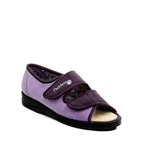 Padders - Lilac +Lydia+ womens memory foam slippers