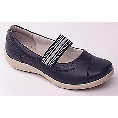 Padders - Navy Jade womens Mary Jane shoes