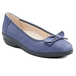 Padders - Blue 'Annabel' womens pump shoes