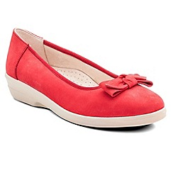 Padders - Red 'Annabel' womens pump shoes