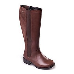 Padders - Brown 'Myra' women's long leather boots