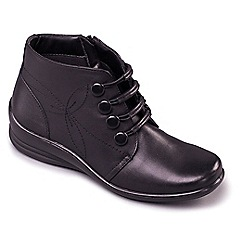 Padders - Black 'Tanya' ankle boots